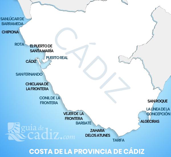 Gua de Chiringuitos de la provincia de Cdiz