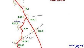 Ruta del Alberite