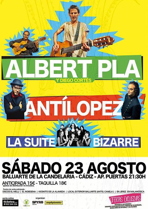 ALBERT PLA + ANT�LOPEZ + LA SUITE BIZARRE