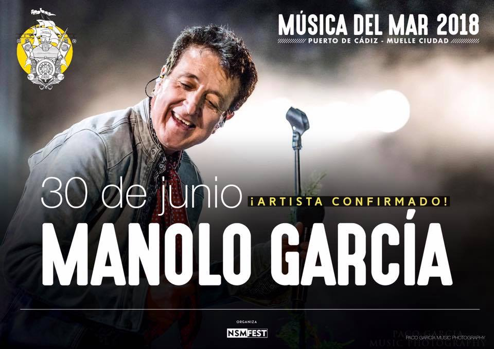MÚSICA DEL MAR 2018: MANOLO GARCÍA