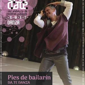 Con el título 'Pies de bailarín', Omar Meza, único intérprete sobre el escenario