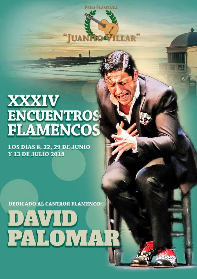 XXXIV ENCUENTROS FLAMENCOS PEÑA FLAMENCA JUANITO VILLAR DEDICADO A DAVID PALOMAR