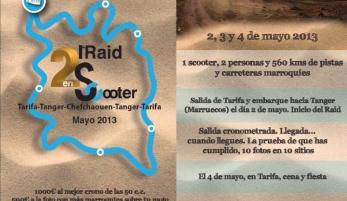 """2 RAID EN SCOOTER"" Tarifa - Marruecos"
