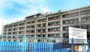 El apartahotel de Puerto Sherry estará listo para principios de junio