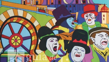 Cartel de Carnaval de Cádiz 2014