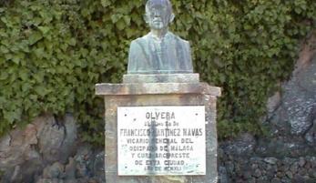 BUSTO A D. FRANCISCO MARTÍNEZ NAVAS
