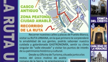 RUTA URBANA POR ALCALÁ DEL VALLE