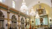 Interior de la iglesia de la Carraca